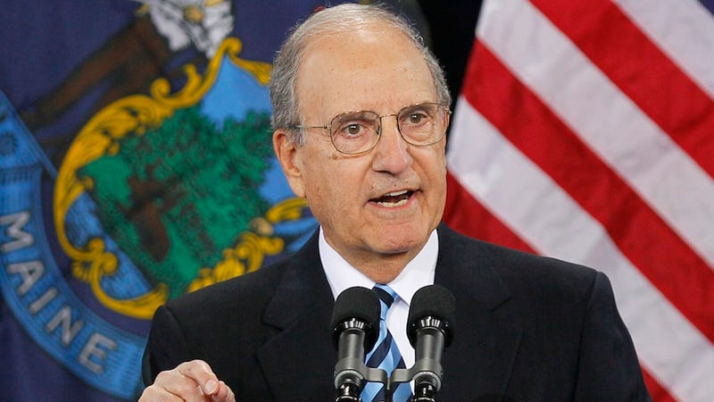 """Illustration for article titled NCAA Names Former Sen. George Mitchell As Penn State's """"Athletics Integrity Monitor"""""""