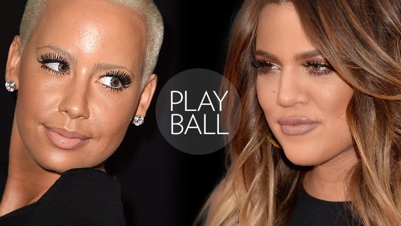 Illustration for article titled Celebrity Fight Referee: Who Won Khloé Kardashian vs. Amber Rose?