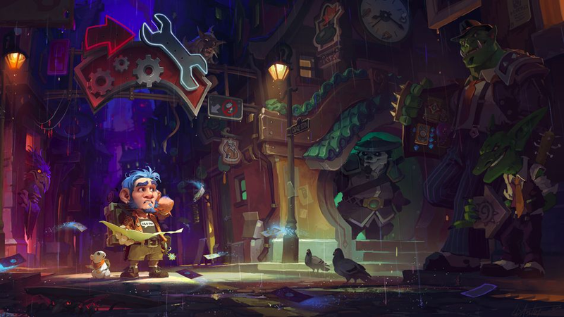 Illustration for article titled Hearthstone's Latest Expansion Is Full Of Personality