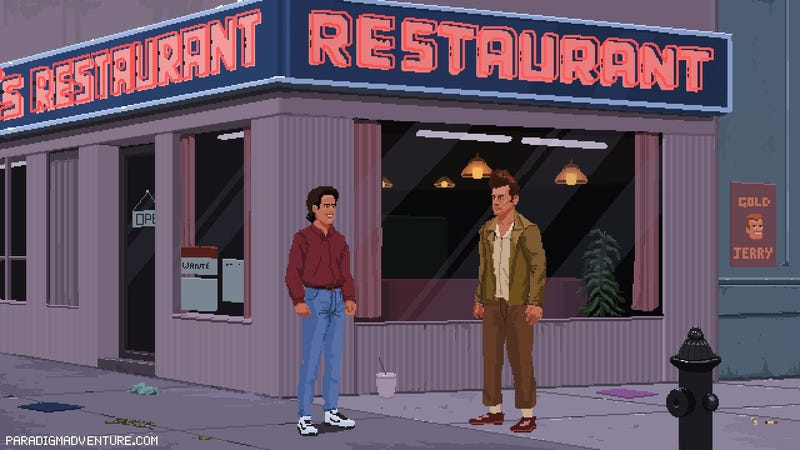 Illustration for article titled Dreaming Of A Seinfeld Adventure Game