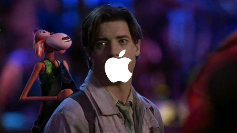 Illustration for article titled Apple May Be the First Trillion-Dollar Company, but Can You Believe the 2001 Brendan Fraser FilmMonkeybone Isn't on Netflix??