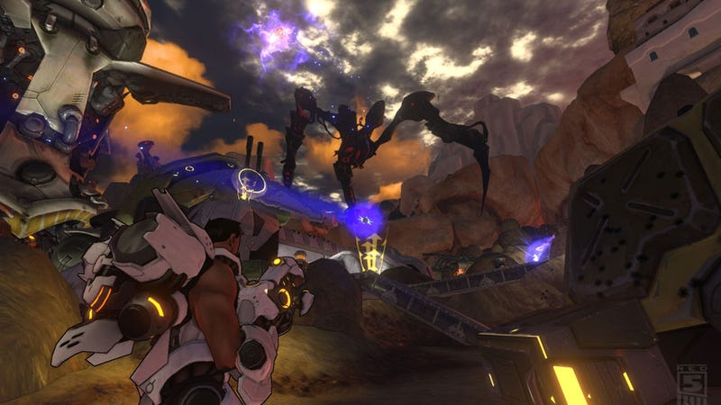Illustration for article titled A Brief Moment with Firefall, The Free Game That Wants To Be World of Warcraft with Guns