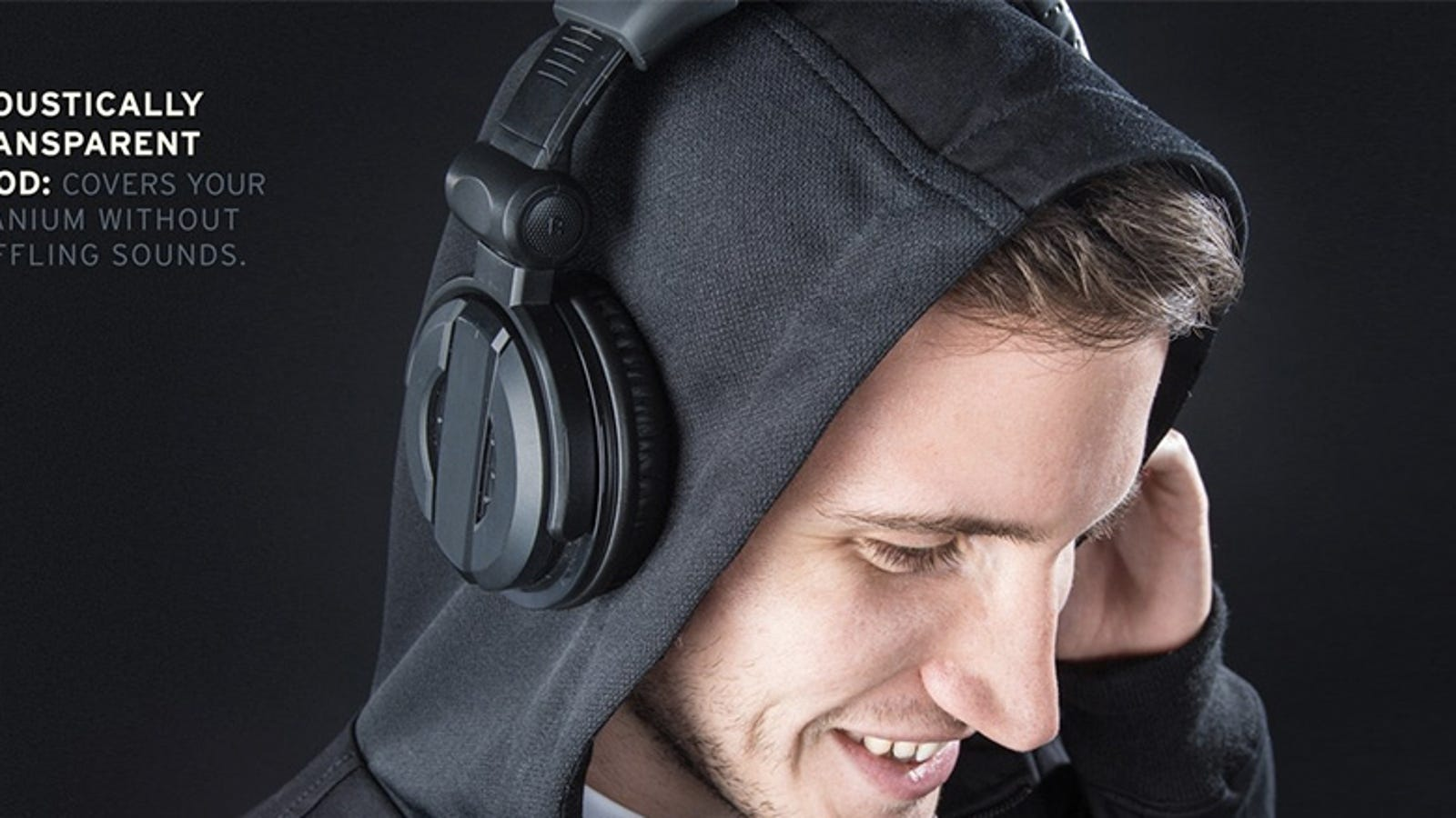 earbuds pack samsung - A Hoodie Made From Speaker Fabric Won't Muffle Your Headphones