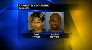 Terri Hymes and Archie HowardChannel 11 WPXI Screenshot
