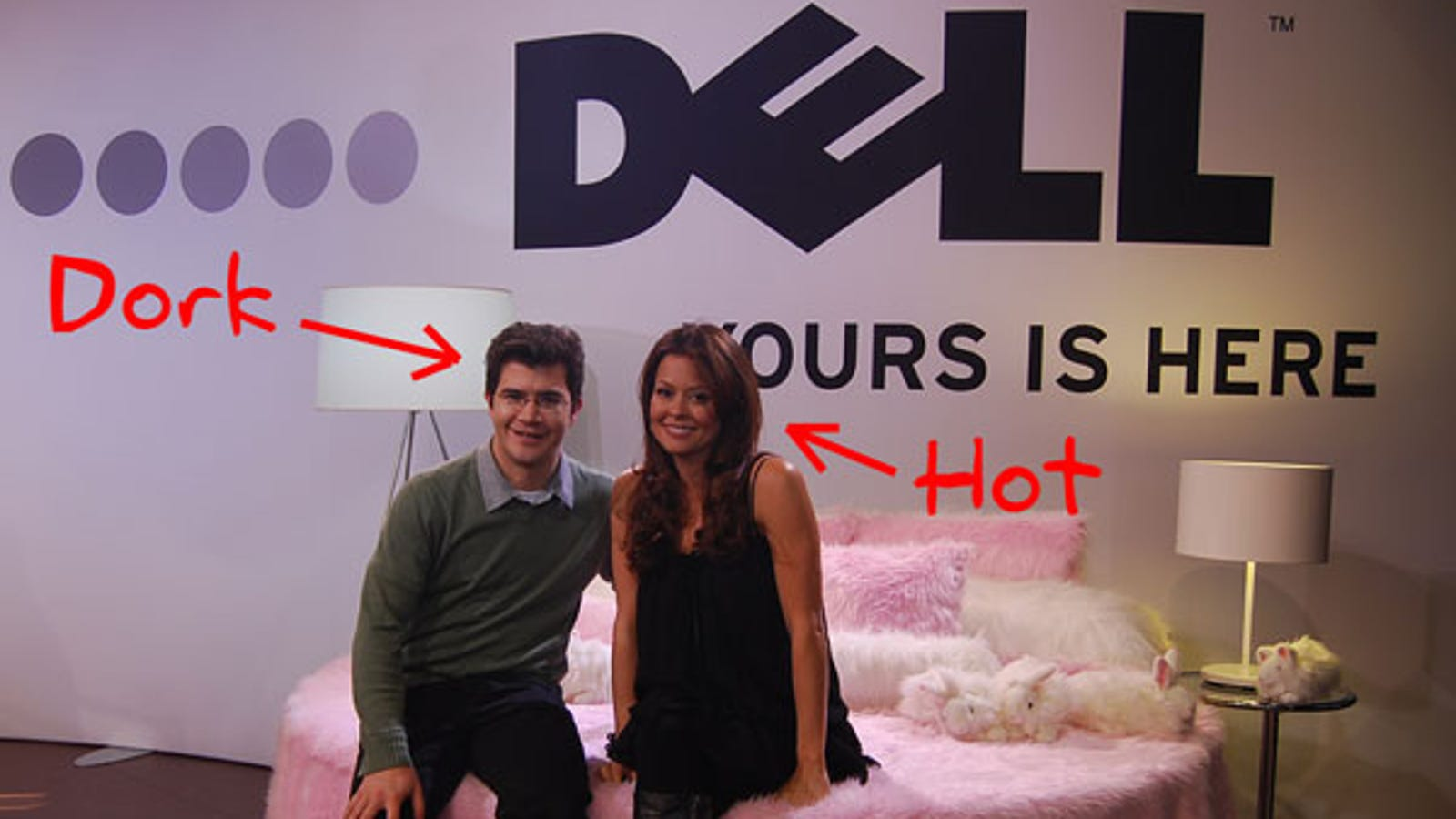 Touch a Dell, Meet a Celebrity (Not Other Way Around) at