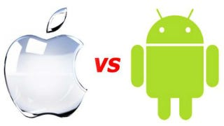 Illustration for article titled Fanboys Stab Each Other Over Android vs Apple