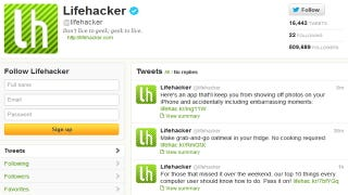 Illustration for article titled Follow Lifehacker on Twitter for All Our Stories Right in Your Feed