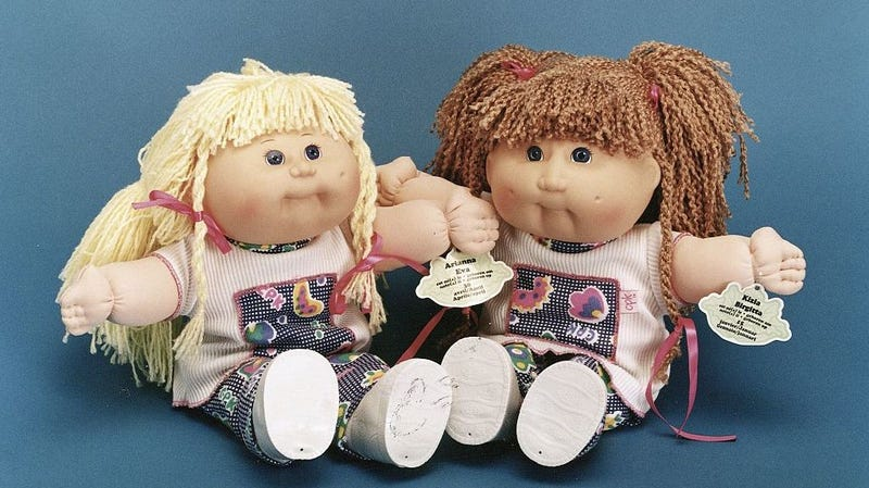 Illustration for article titled Please enjoy this terrifying look into the Cabbage Patch Kids' birthing chambers