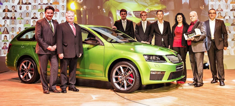 Illustration for article titled Skoda Hit A New Record By Selling A Million Cars In 2014