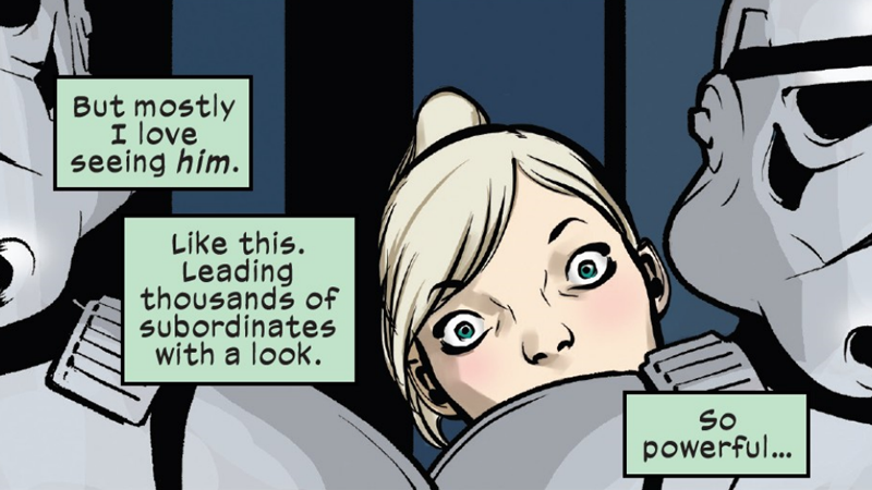 The protagonist in the latest issue of the Vader anthology series has drawn some concerns from fans.