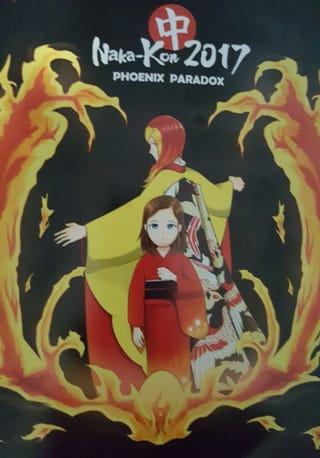 This year's Naka-Kon guidebook.