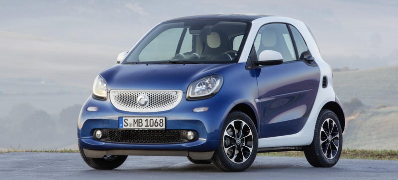 Illustration for article titled The 2016 Smart ForTwo Stays Small But Gets Huge Improvements