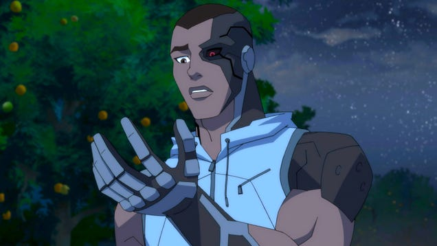 Cyborg s Arrival Brings Some Major Upgrades to Young Justice: Outsiders  Mythos