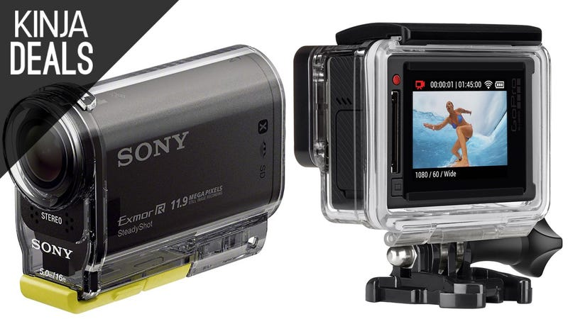 Illustration for article titled Capture Your Adventures with These Action Cam Deals