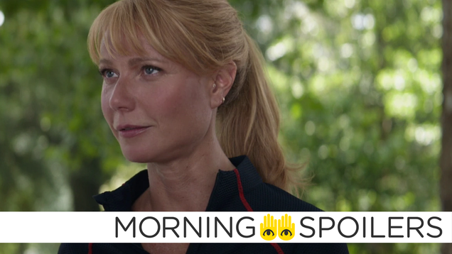 Avengers 4 Set Pictures Tease an Interesting Upgrade for Pepper Potts