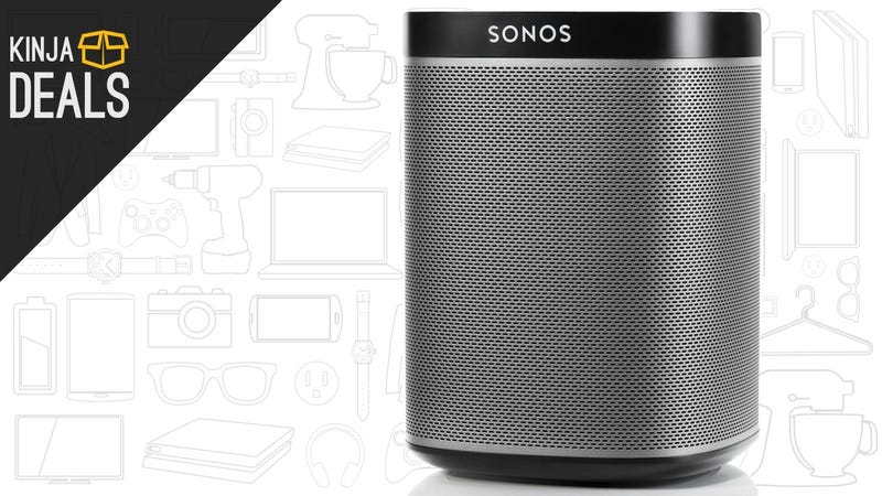 Illustration for article titled Here's the Sonos Play:1 Discount That Black Friday Lacked