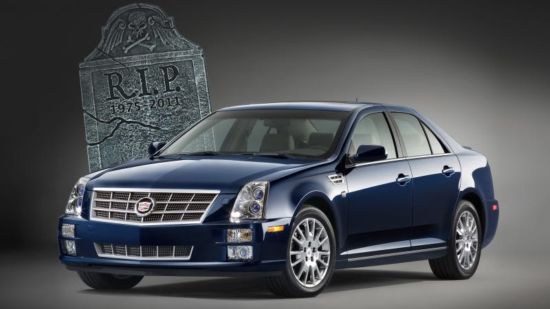 Illustration for article titled Why the Cadillac STS had to die