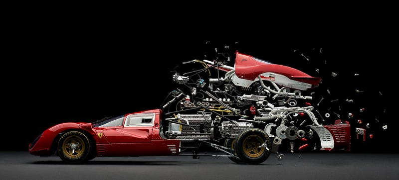 Illustration for article titled Cool disintegrating cars photos make me feel like a little kid