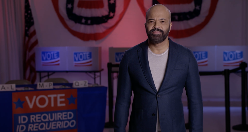 Actor Jeffrey Wright, narrator for 'Rigged: The Voter Suppression Playbook'
