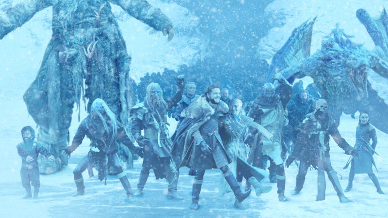 Illustration for article titled New 'Game Of Thrones' Trailer Provides Sneak Peek At Show's Climactic All-Cast Dance Number