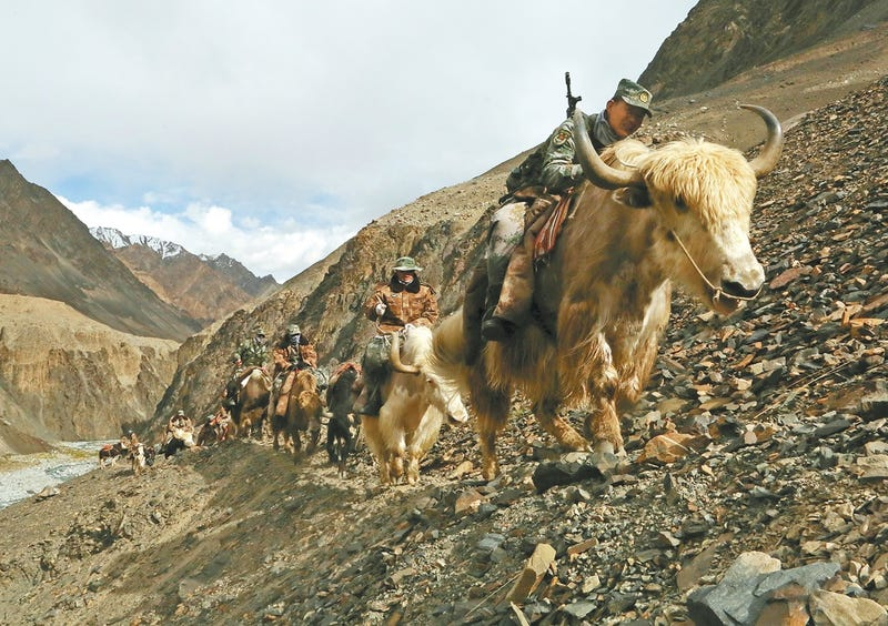 Why China's Army Still Rides Yaks