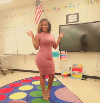 Atlanta teacher Patrice BrownTwitter