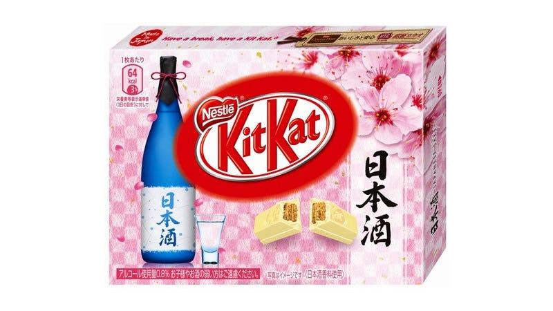 Illustration for article titled Japan Is Getting Sake-Flavored Kit Kats