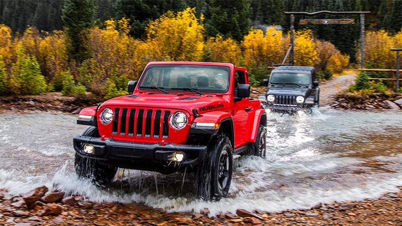 Illustration for article titled The 2018 Jeep Wrangler Will Start At $26,195: Report