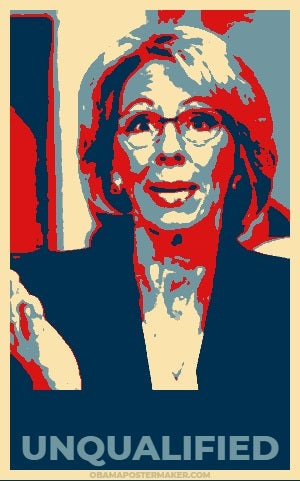 How Unqualified Is Betsy Devos >> Betsy Devos Is A Cruel Ignorant Useless Morally Corrupt And Evil
