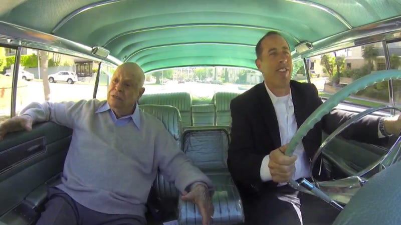 watch don rickles tell jerry seinfeld amazing stories in a cadillac. Black Bedroom Furniture Sets. Home Design Ideas