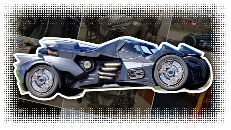Illustration for article titled The Best-Ever Real World Batmobile Comes From An Ex-Koenigsegg Engineer