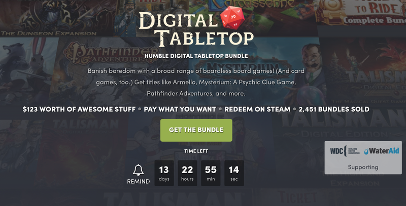 Digital Tabletop Game Bundle | Humble