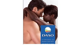 Illustration for article titled South Africans Are Not Okay With Interracial Poster Couple