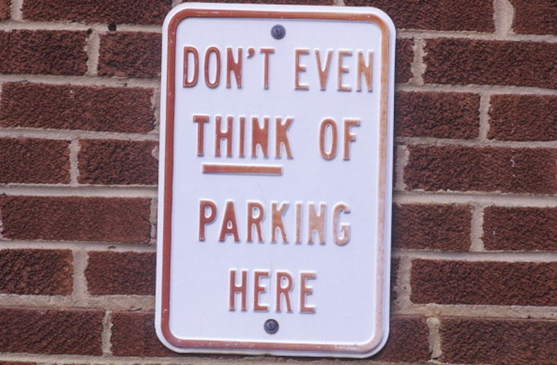 Illustration for article titled Someone Is Finally Making Parking Signs That Make Sense
