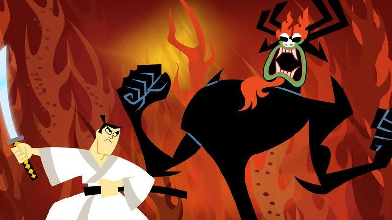 Illustration for article titled After all these years, Samurai Jack's quest comes to a swift, fitting end