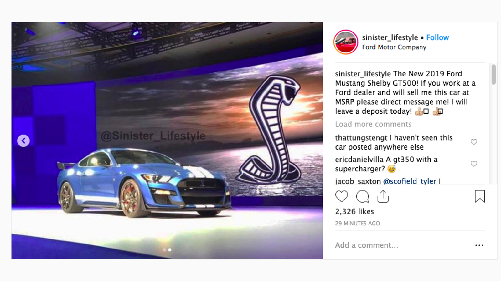 2020 Ford Mustang Shelby GT500: This Is It