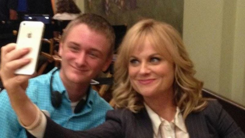 Illustration for article titled The Parks And Recreation cast gave a Make-A-Wish kid an awesome day