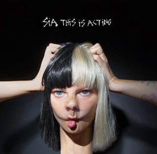 Illustration for article titled Sia's new album cover terrifies me