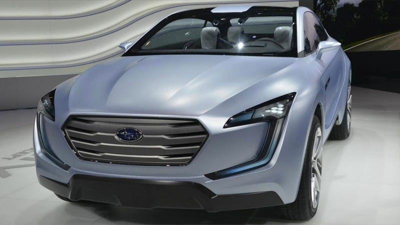 Illustration for article titled Subaru Viziv Concept: It has An Aston Grille, Too