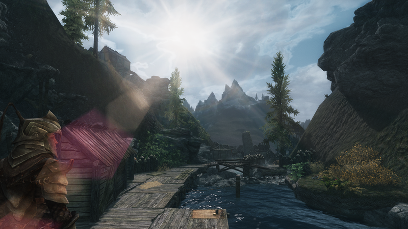 Illustration for article titled Skyrim Expansion Mod 'Lordbound' Shows Off Environments In New Trailer