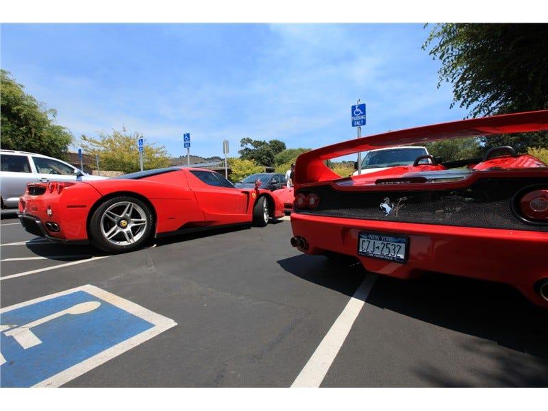 Illustration for article titled Handicapped Ferraris