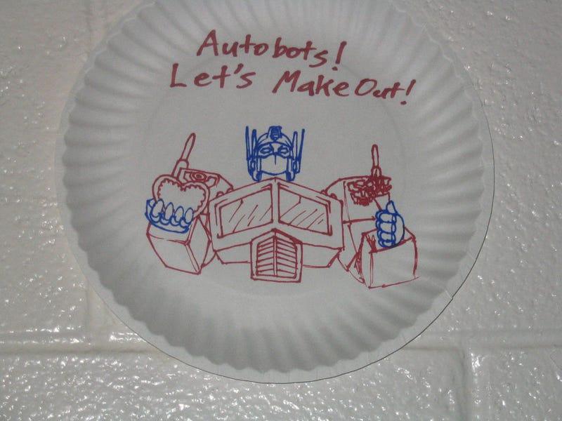 Illustration for article titled Megatron Is Mega Art Icon