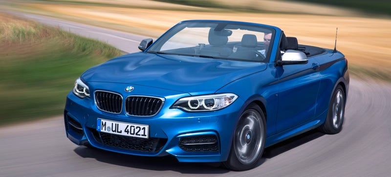 Illustration for article titled 2015 BMW 2-Series Convertible: This Is It (And It Gets AWD)