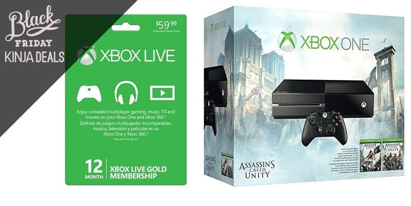 Illustration for article titled Get a Year of Xbox Live for Free with this Xbox One Bundle