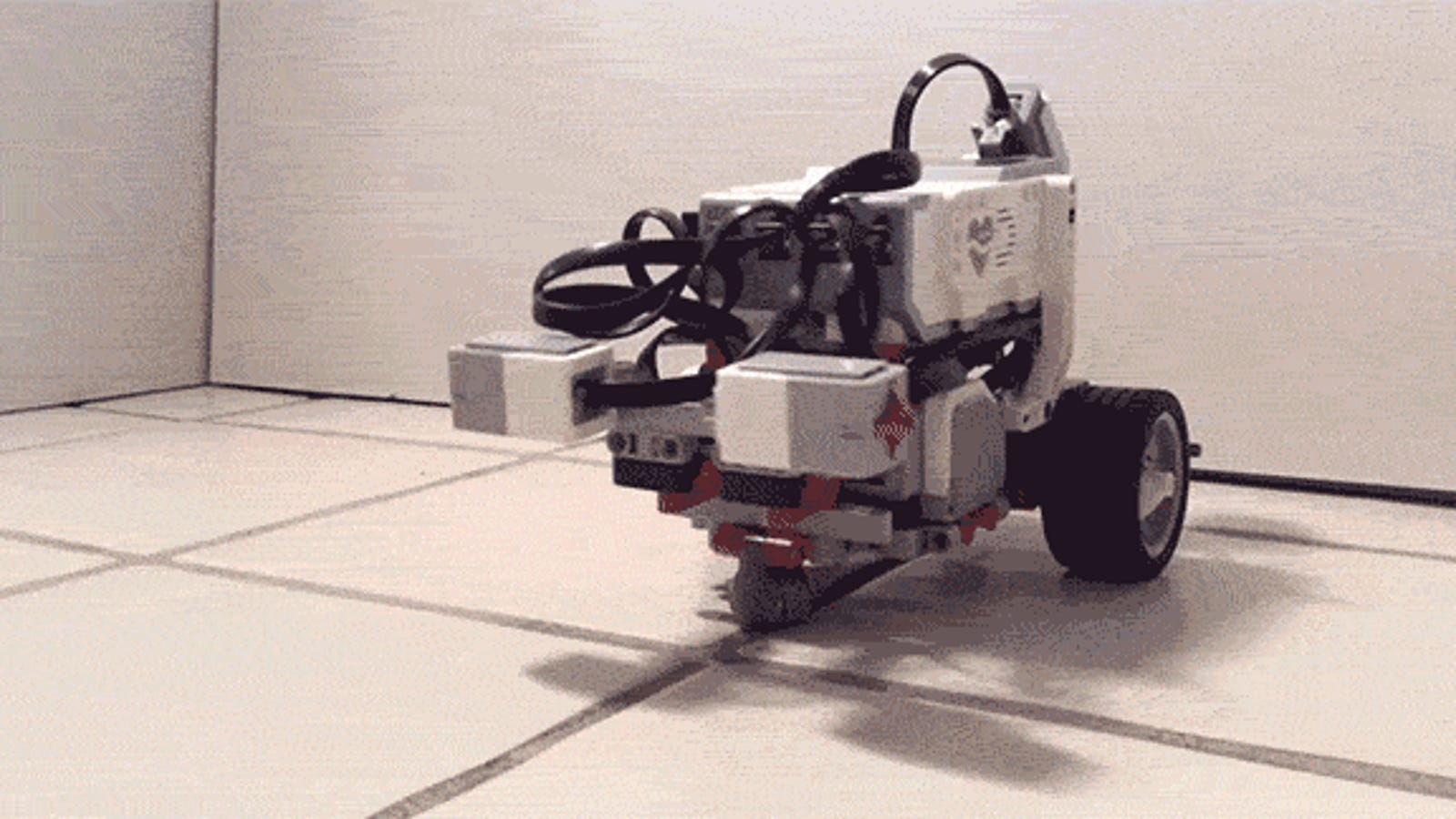 This Robot Thinks It's a Tiny Little Worm