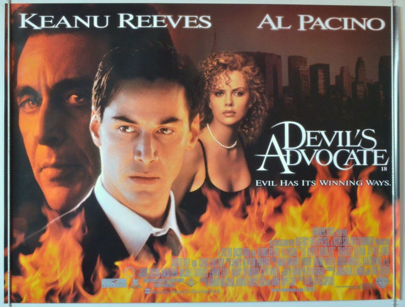 """Illustration for article titled The """"Satanic Law Firm"""" Movie Devil's Advocate Is Becoming A TV Show"""