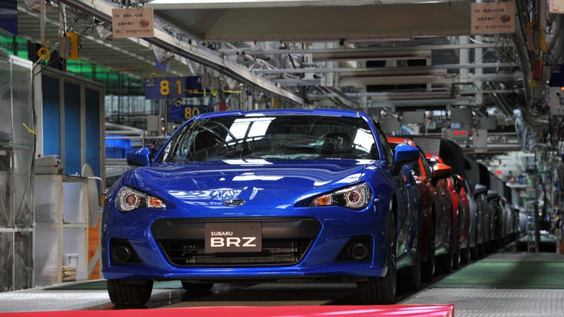 Illustration for article titled Subaru Admits Defeat, Launches All-Wheel-Drive Turbo Diesel Hybrid Convertible BRZ On Monday