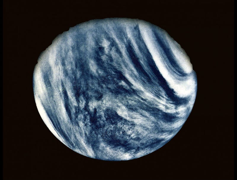Illustration for article titled We Got Our First Close-up Look at Venus 40 Years Ago Today