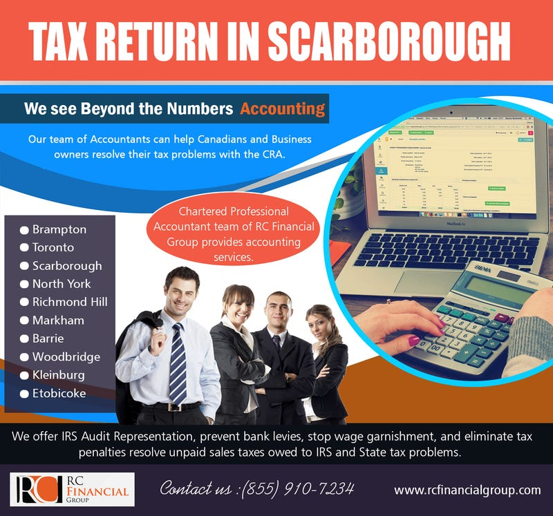 Illustration for article titled Tax Clinics   Scarborough | 8559107234 | rcfinancialgroup.com