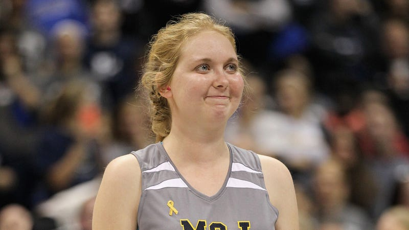 Illustration for article titled LeBron James to Basketball Player Lauren Hill: 'You Inspired Me'